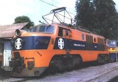 Electric Locomotive, Chile, Vintage, Arrow, Trains, Toys, Wood, Chili, Chilis