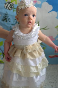 DIY Girl Blessing Dress...ADORABLE!!!!