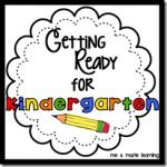 Getting Ready for Kindergarten Parent Pack