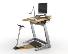 Focal Upright's Locus Leaning Workstation Review | WorkWhileWalking.com