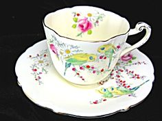 1930 BIRTH OF PRINCESS MARGARET PARAGON CUP AND SAUCER. Click on the image for more information.