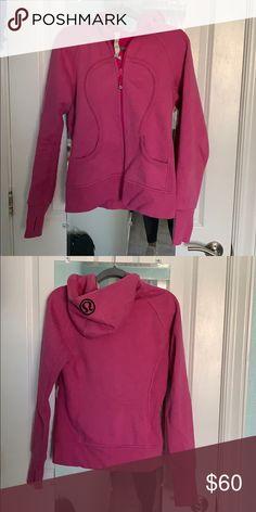 fdf91cf3e lululemon scuba hoodie sparkle pink hoodie lululemon athletica Tops  Sweatshirts   Hoodies