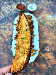 Easy Air Fryer Seasoned Potato Wedges is a quick and healthy recipe that uses fr. Seasoned Potato Wedges, Crispy Potato Wedges, Seasoned Potatoes, Crispy Potatoes, Russet Potatoes, Air Fryer French Fries, Homemade French Fries, Smoked Paprika, Air Fryer Recipes