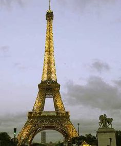 Eiffel Tower in Paris Tour Eiffel, Paris Eiffel Tower, Eiffel Towers, Montmartre, Oh The Places You'll Go, Places To Travel, Places Around The World, Places Ive Been, Places To Visit
