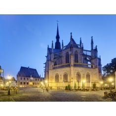 Osnabrück, Marienplatz, Rathaus, Fototapete, Merian, Fotograf: K. Bossemeyer