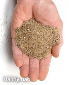 Polymeric paver sand--sand mixed with a polymer that forms a weed barrier when wet down. Find at landscaper suppliers for  about $12 for a 50# bag.