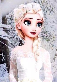 elsa Frozen Disney, Elsa Frozen, Frozen And Tangled, Film Disney, Frozen Movie, Disney Art, Frozen Queen, Queen Elsa, Disney Style