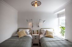 The Cuttlefish - Sleeps 4 + cot - Mousehole House Design, Twins Room, Country Cottage Bedroom, Home, Luxury, Bedroom Wall, Coastal Homes, Self Catering Cottages, Luxury Cottage