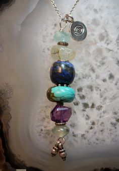 Intuition  Sacred Intention Necklace by abbyhorowitzdesigns, $35.00
