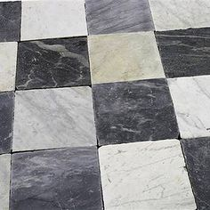 Over 360 years old antique Carrara and Italian black marble squares #antique #marble #classic #architecture #eastern #seaborne #newyork #newengland #ct #connecticut #checkerboard #blacknwhite #blackandwhite #entry #entryway #foyer #entrance #marbledesign