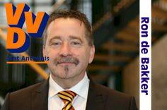 VVD Sint Anthonis. Lijst 3, Kandidaat 2: Ron de Bakker.