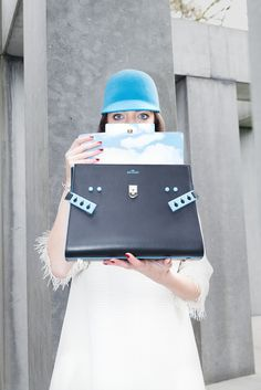 In the realm of dreams... by Delvaux | Yayzine! Delvaux and Magritte Tempête, designer bag