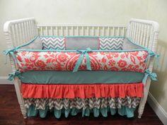 Baby Bedding Crib Set Calliope New! : Just Baby Designs, Custom Baby Bedding Custom Crib Bedding Custom Nursery Bedding