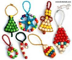 Figuras navideñas con abalorios_1