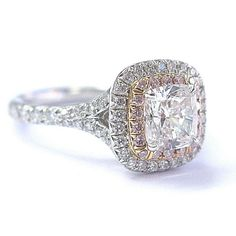"""Understanding #diamond terminology is essential if you're going to make a smart purchase decision. """"Total carat weight"""" (abbreviated tcw) is the combined weight of all the diamonds in a piece of jewelry that only contains diamonds. But if an #engagementring has other gems in addition to diamonds, do you know what the combined weight is called? Courtesy: @truefacet"""