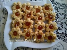 Jam Biscuits recipe by Sumayah posted on 21 Jan 2017 . Recipe has a rating of by 1 members and the recipe belongs in the Biscuits & Pastries recipes category Eid Biscuits, Buttermilk Biscuits, Jam Cookies, Biscuit Cookies, Biscuit Mix, Biscuit Recipe, Pastry Recipes, Cake Recipes, Whole Wheat Cookies