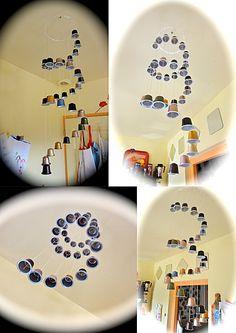 rideau de capsules nap pinterest capsule nespresso et activit manuelle. Black Bedroom Furniture Sets. Home Design Ideas