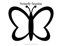 Use these free printable butterfly templates for your DIY butterfly crafts, butterfly coloring pages, or just to have an awesome monarch butterfly design! Butterfly Stencil, Butterfly Cutout, Butterfly Template, Butterfly Crafts, Printable Butterfly, Monarch Butterfly, Butterfly Design, Crown Template, Butterfly Mobile