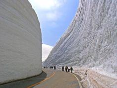 Honshu, Japan's 56 feet of snow
