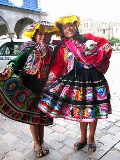 cusco peru : liz we should make the girls outfita like these