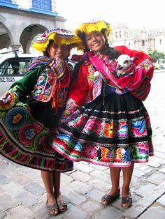 cusco peru : liz we should make the girls outfita like these