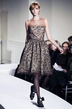 Oscar de la Renta Fall 2008 Ready-to-Wear Fashion Show - Raquel Zimmermann