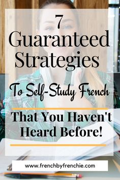 If you think that to self-study French is not possible, think again. With the tons and tons of resources, books and apps available, it is easy to do and totally achievable. Just taking into account a couple of things to learn French, or any language, faster, will help you to develop the skills necessary to achieve your language goals, fast. Repin this and read it. Learn French Free, Learn French Beginner, French For Beginners, French Articles, French Tips, Memory Words, Study French, Learning Techniques, High Frequency Words