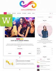 WordPress Theme  WordPress Blog Theme  WordPress by wordica