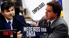 Consultor Bolivariano empolga-se, Medeiros e senadores não perdoam