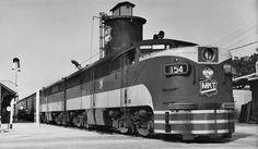 Missouri-Kansas-Texas - Image Gallery | Classic Trains Magazine Kansas City–San Antonio/Houston Bluebonnet at San Marcos, Texas, circa 1951.