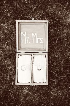 Rings in a box instead of on a pillow! My Perfect Wedding, Wedding Dj, Wedding Vendors, Wedding Bells, Wedding Engagement, Dream Wedding, Wedding Decor, Wedding Stuff, Wedding Rings