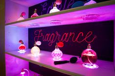 EDIBLE FRAGRANCE INSTALLATION PERFECT FOR LUXURY EVENTS, EXHIBITIONS, FASHION THEMED EVENTS AND BAR MITZVAHS