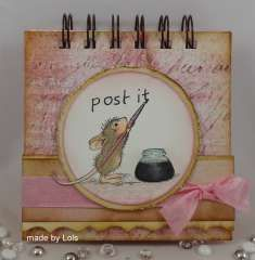 """""""Post It Note Holder"""" by Lorraine Aquilina on House-Mouse Designs®"""