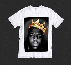 Notorious B.I.G Biggie Smalls BIG Graphic by otherworldwear, $14.99
