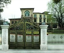 Hot selling iron main gate designs for homes | Iron Gates ...