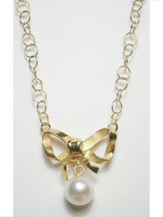 Bow Necklace - Quaglia SS 2013 Collection