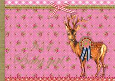 Pip Studio Geboorte Meisje Hert