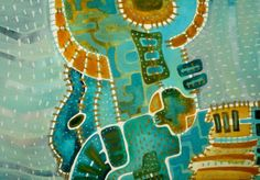 Mapa Obraz pochází z nové kolekce obrazů vytvořených kombinovanou technikou, kterou jsme si upravila sobě na míru. Od kresby oblíbenými akvarelovými pastely jsem došla ke klasickému akvarelu. Akvarelové barvy jsou zkombinovány s akvarelovým pastelem, který po nastrouhání a rozpuštění ve vodě slouží jako běžné akvarelové barvy, pouze je sytější a ve větší hustotě ...