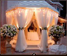 Trendy Wedding Ceremony Set Up Entrance Gazebo Decorations, Light Decorations, Wedding Decorations, Wedding Ceremony, Wedding Day, Wedding Receptions, Wedding Stuff, Funny Wedding Cards, Patio Canopy