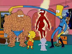 Références : Quatre Fantastiques (les) - The Simpsons Park : Toute l'actualité des Simpson