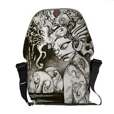 Squidgirl Courier Bags $111.00