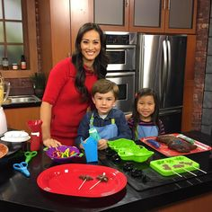 Baking with Kiddos on TV