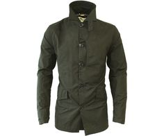 One True Saxon Ingwald Jacket Khaki - Terraces Menswear