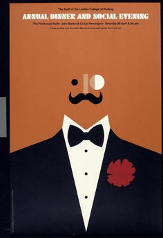 Tom Eckersley, Annual dinner and social evening, man - 1960