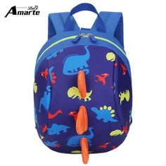 561762c14300 Buy New AntiLost Kids Bags Backpack Cute Cartoon Animal Printing Children  Backpacks For Boy Girls Kindergaden School Backpacks  22.77- ICON2