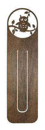 Lesezeichen Lesart - wooden bookmark