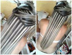 mechas platinadas en todo el cabello - Buscar con Google
