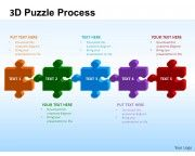 Business Puzzle List Diagarm Powerpoint Templates Ppt Presentation