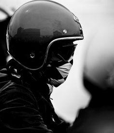Go time, moto helmet
