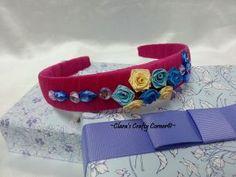 Starry Rosy Headband - Pink